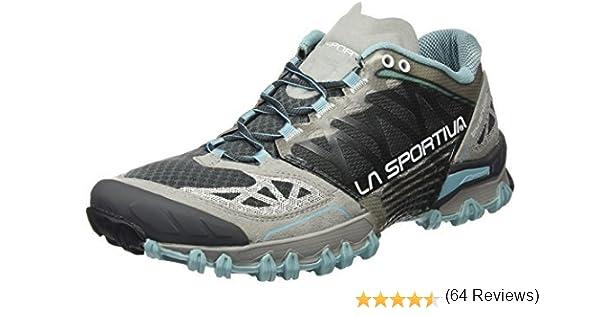 La Sportiva Bushido Trail - Zapatillas de Running para Mujer, 40, Ice/Grey: Amazon.es: Deportes y aire libre