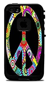 "60s Design Peace Sign Vinyl Decal Sticker for iPhone 6 PLUS (5.5"") Lifeproof Case"