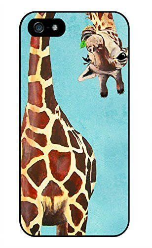 Animal Giraffe Phone Case Custom Well-designed Hard Case Cover Protector For Iphone 5 5s 5c