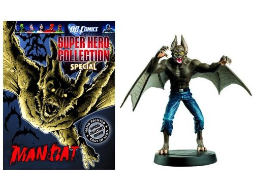 Eaglemoss Dc Comics - EAGLEMOSS DC COMICS SUPER HERO COLLECTION SPECIAL MAN-BAT