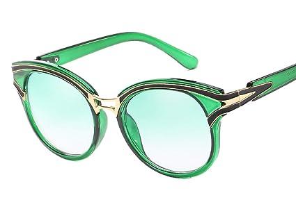 DaQao Gafas de sol para mujeres, hombres, redondas, vintage ...
