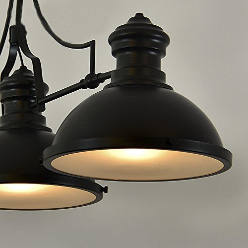Pool Table Light Black: BAYCHEER HL416343 Industrial Retro Vintage Style Three