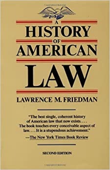 Book A History of American Law (Touchstone Books) by Lawrence M. Friedman (1989-01-01)