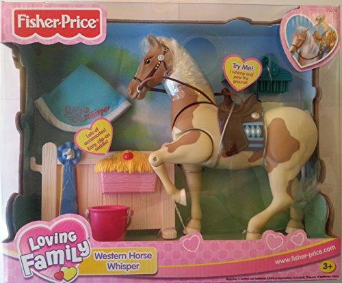 Fisher Price Loving Family Horse - Fisher Price Loving Family Western Horse Whisper