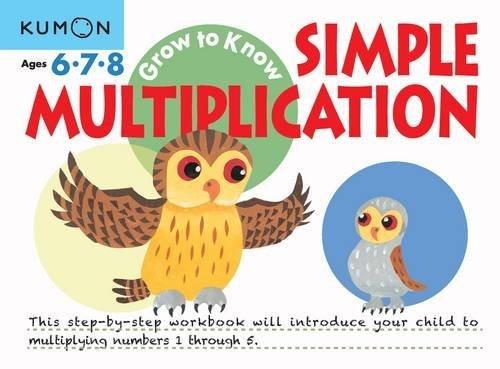 Grow to Know: Simple Multiplication (Grow to Know Workbooks)