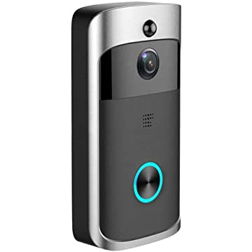 ThinIce Durable Practical 166° Wide-Angle Wireless Phone Remote Doorbell Kits