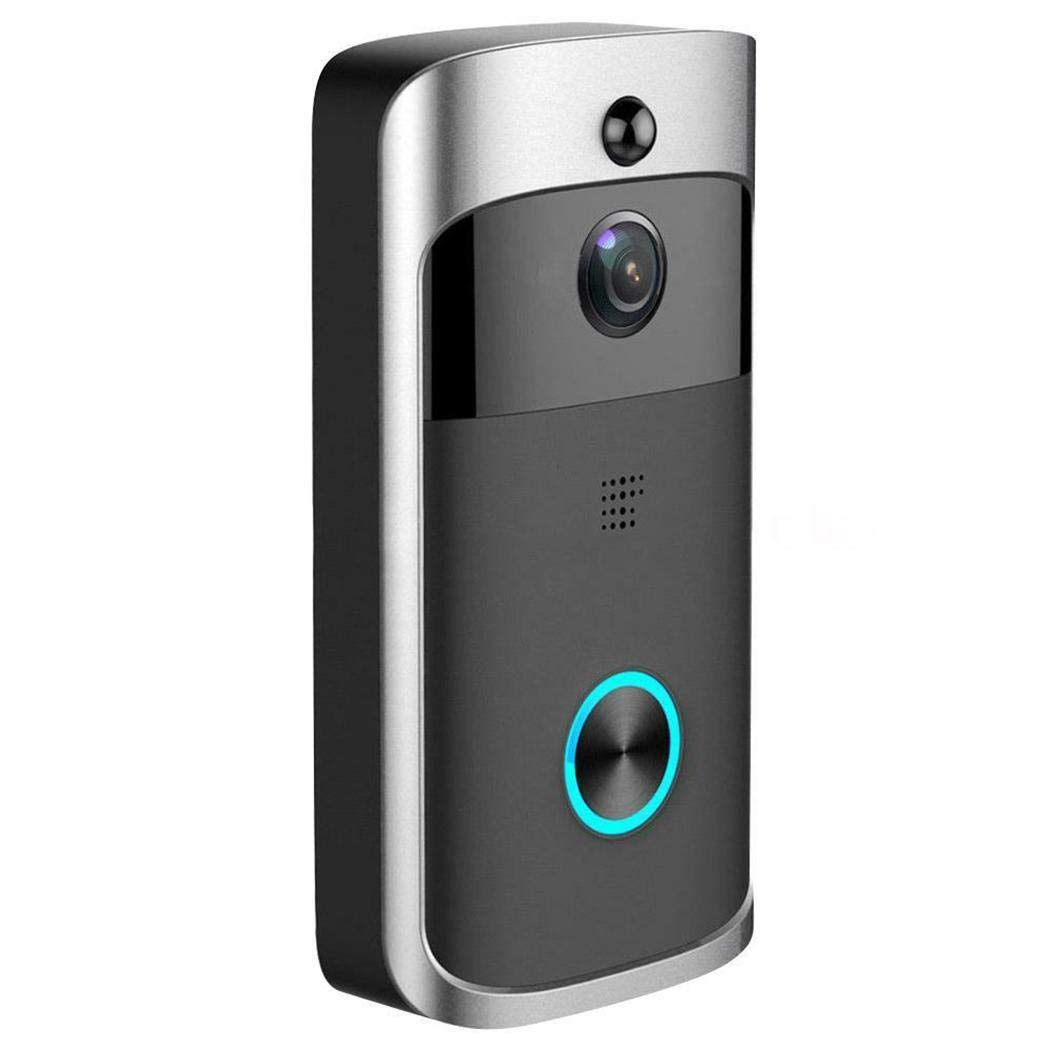 Kaimu Durable Practical 166° Wide-Angle Wireless Phone Remote Doorbell Kits