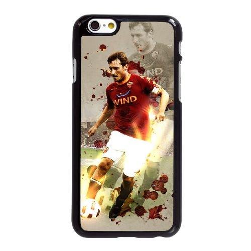 Z4O77 Francesco Totti L9R8UT coque iPhone 6 Plus de 5,5 pouces cas de couverture de téléphone portable coque noire CZ8GRP3GE