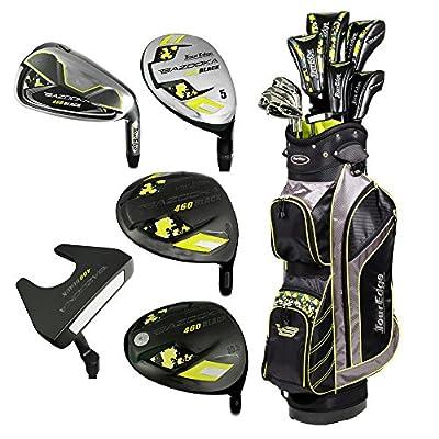 Tour Edge Golf- Bazooka Black Complete Set With Bag Graphite/Steel