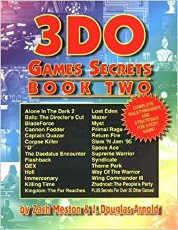 Book 3DO Games Secrets: Book Two by Zach Meston (1996-01-31)
