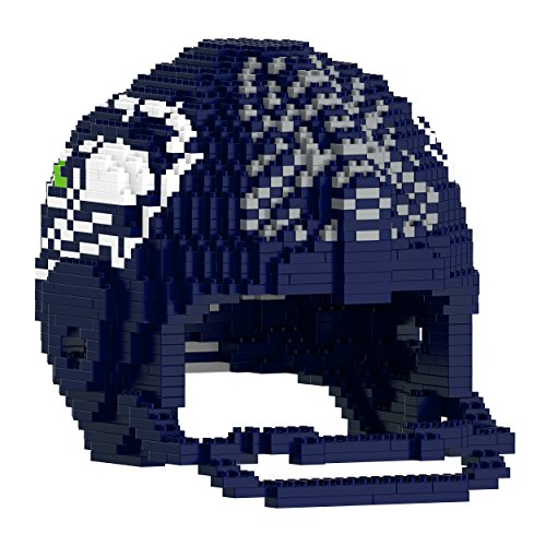 FOCO Seattle Seahawks 3D Brxlz - Large Helmet (Hawk Novelty Helmet)