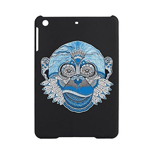 iPad Mini Case Black Chinese New Year Monkey 2016 Lucky Blue