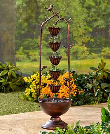 decorative-iron-dragonfly-rain-chain