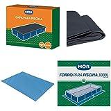 Kit Capa + Forro Para Piscina Standard 3000 Litros - Mor