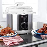 Wolfgang Puck 5qt Automatic Rapid Pressure Cooker with 44 Recipes