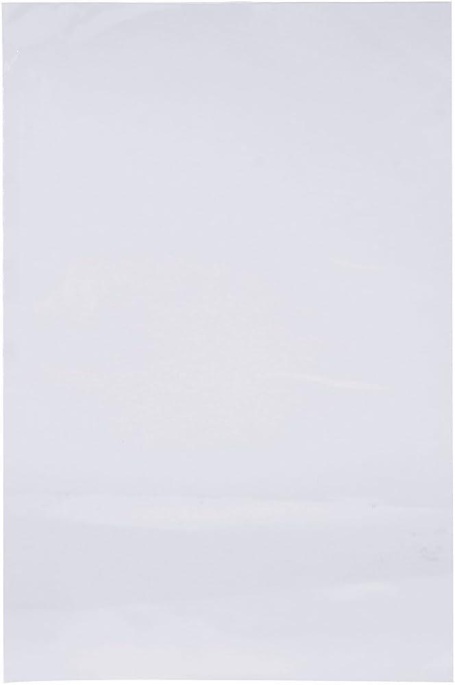 Werse 100Pcs Calor Encogimiento Bolsa Wrap Pel/ícula Envasado Sello Regalo Embalaje Pvc Encogible