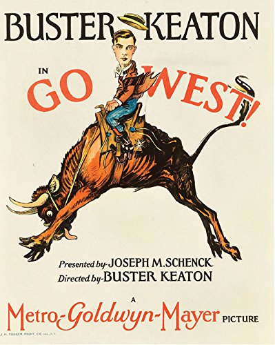 Go West! (Aka Go West) Movie Poster or Canvas
