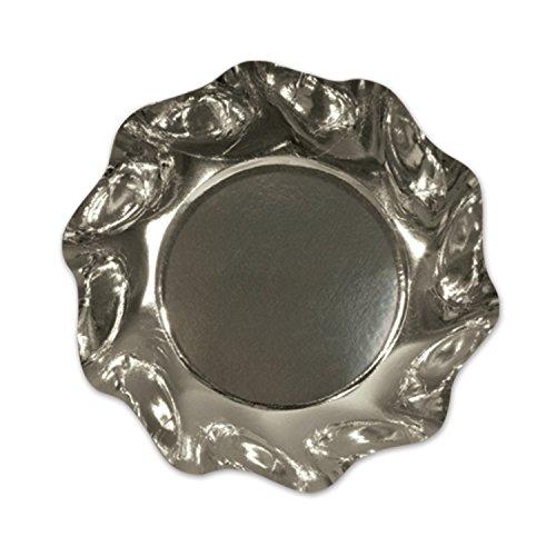 UPC 034689136514, Metallic Silver Medium Bowls   (10/Pkg)