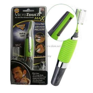 Micro Touch MAX Haartrimmer Nasenhaar Trimmer Augenbrauen Rasierer Ohren NEU