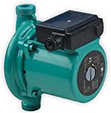 STARQ 100W Inline Booster Pressure (Circulating) Centrifugal Water Pump (0.133 HP) Suitable for Bathroom Fittings, Shower, Washing Machine, CNC Machines.