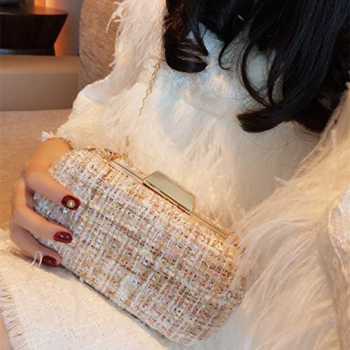 Mini Shoulder Hand Beauty Apricot Temperament Chain Bag Single Banquet color And Fragrant Wind JUZHIJIA Bag Small Bag xFnqwOtxY