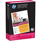 HP Printer Paper, Multipurpose20, 11 x 17, Ledger, 20lb, 96 Bright, 500 Sheets / 1 Ream (172001R) Made In The USA