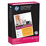 HP Printer Paper, Multipurpose20, 11x17 Paper, Ledger Size, 20lb Paper, 96 Bright, 500 Sheets / 1 Ream (172001R) Acid Free Paper