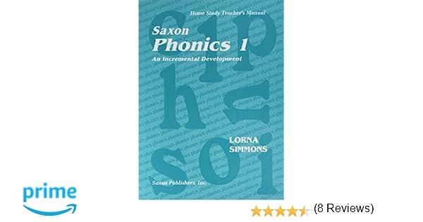 Amazon.com: Saxon Phonics 1 An Incremental Development: Home Study ...