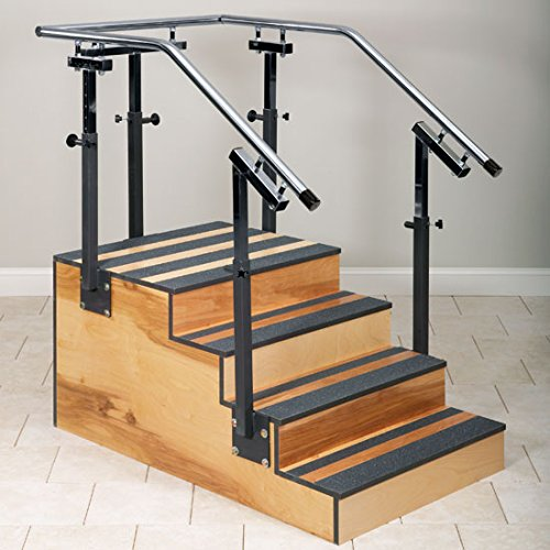 Clinton Adjustable One-Sided Therapy Stairs 36'' Width