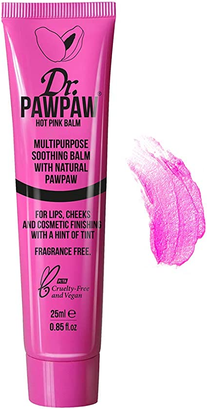 Dr PAWPAW Balm for Lips, Skin, Hair, Nails and Cuticles (Single, Hot Pink): Amazon.es: Belleza