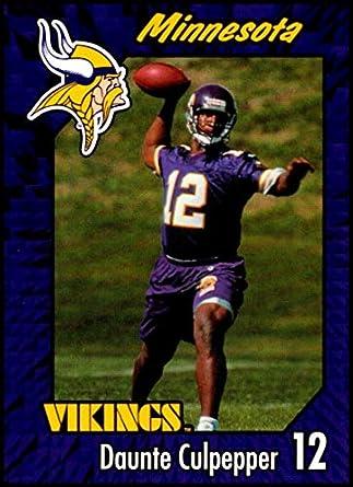 Amazon com: 1999 Burger King Minnesota Vikings #26 Daunte