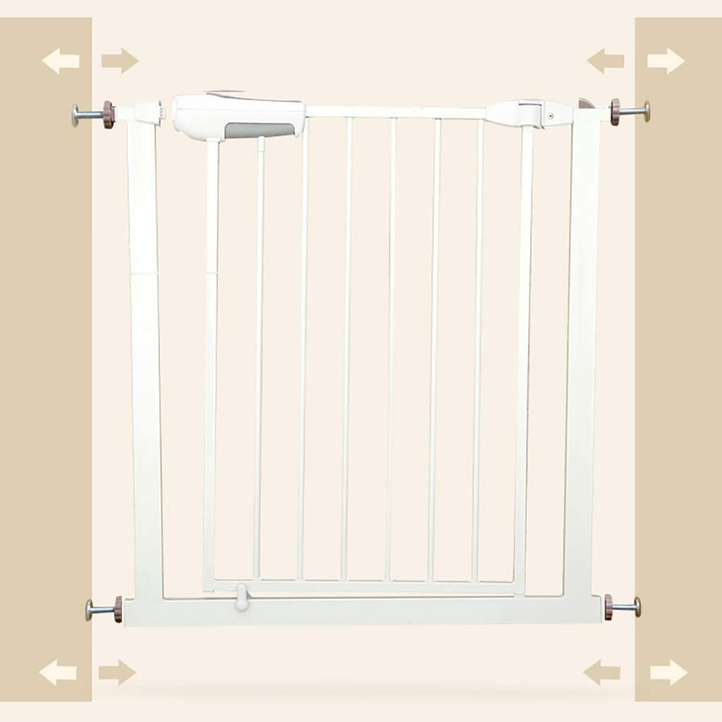 Lbymyb Child Safety Door Pet Fence Protective Isolation Door Heightening Encryption Free Punching Suitable für Door Width 65-72Cm75-82Cm Height 76Cm Child Protection (Size : 65-72Cm)