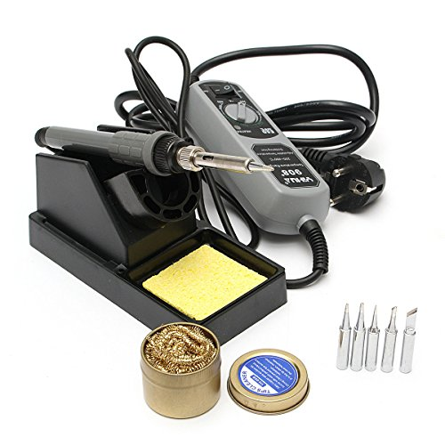 HITSAN YIHUA 908+ 220V 60W Electric Iron Soldering Station Welding Rework One Piece