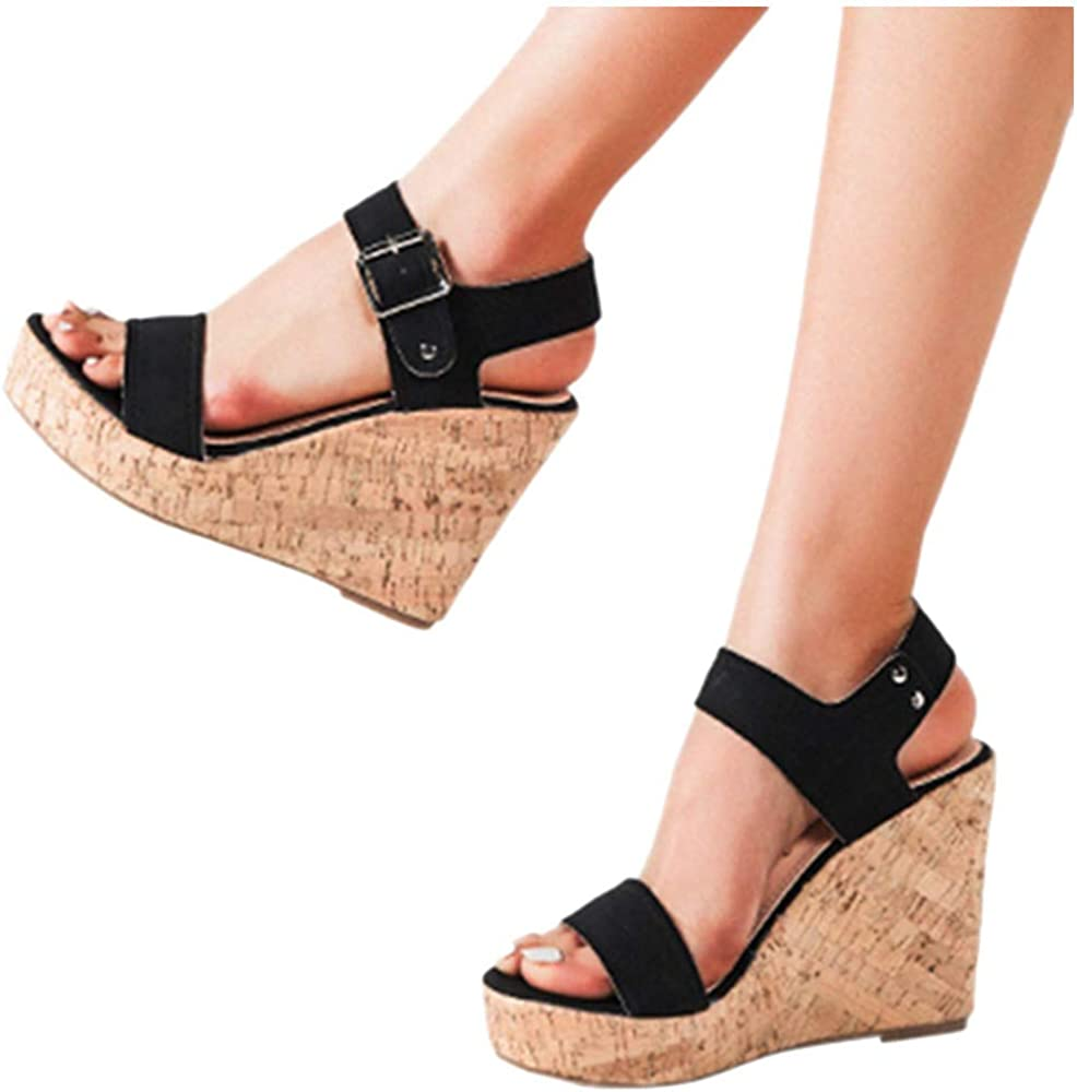 Wedge Sandals for Womens Wide Width