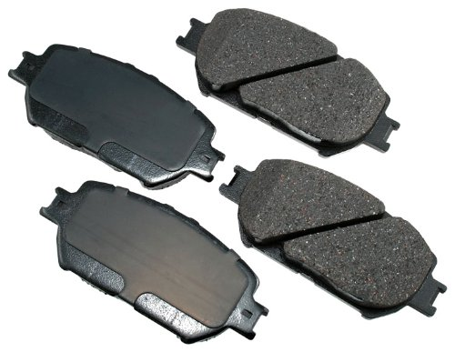 Akebono ACT908 ProACT Ultra-Premium Ceramic Front Brake Pad Set