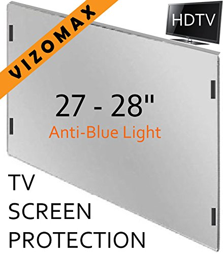 27 - 28 inch Anti-blue Light Vizomax Monitor/TV Screen Protector for LCD, LED, Computer & Plasma HDTV