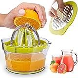 Citrus Juicer Lemon Orange Juicer Manual Hand Squeezer Press +...