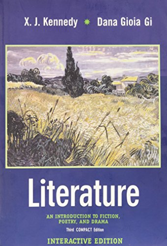 Literature: An Introduction to Fiction, Poetry, and Drama Compact Interactive Edition w/ CD-ROM, Third - Compact Literature Interactive