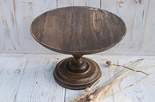 Amazon Com All Sizes Stand Cake Rustic Wooden Stand