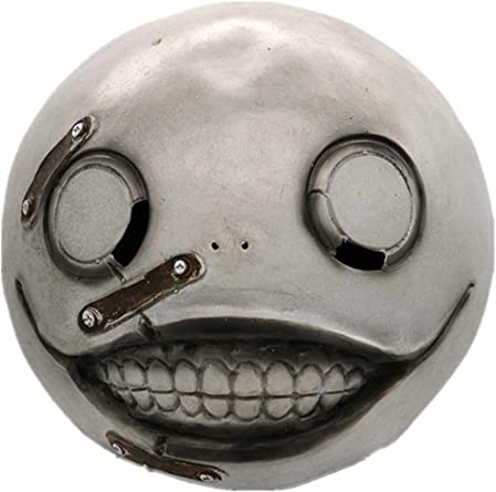 Game Cosplay NieR:Automata Mask Emil Mask Latex 2B Mask Cosplay Costume Prop New