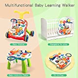 CUTE STONE Sit-to-Stand Learning Walker, 2 in 1