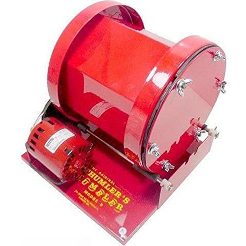 Heavy Duty Rotary Tumbler with 15 lb Capacity by Tru-square Metal Products