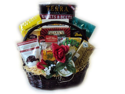 Healthy Valentine's Day Gift Basket - Woman by Well Baskets