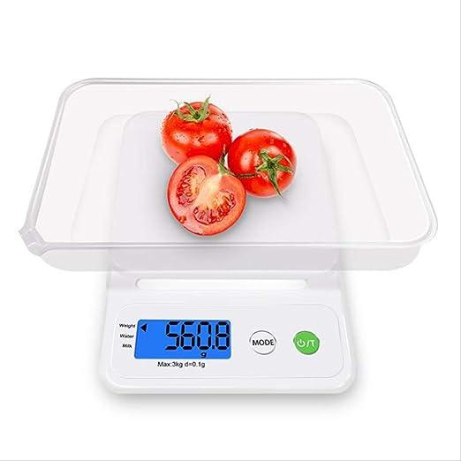YUEC Básculas de Cocina, básculas Digitales para Alimentos y ...