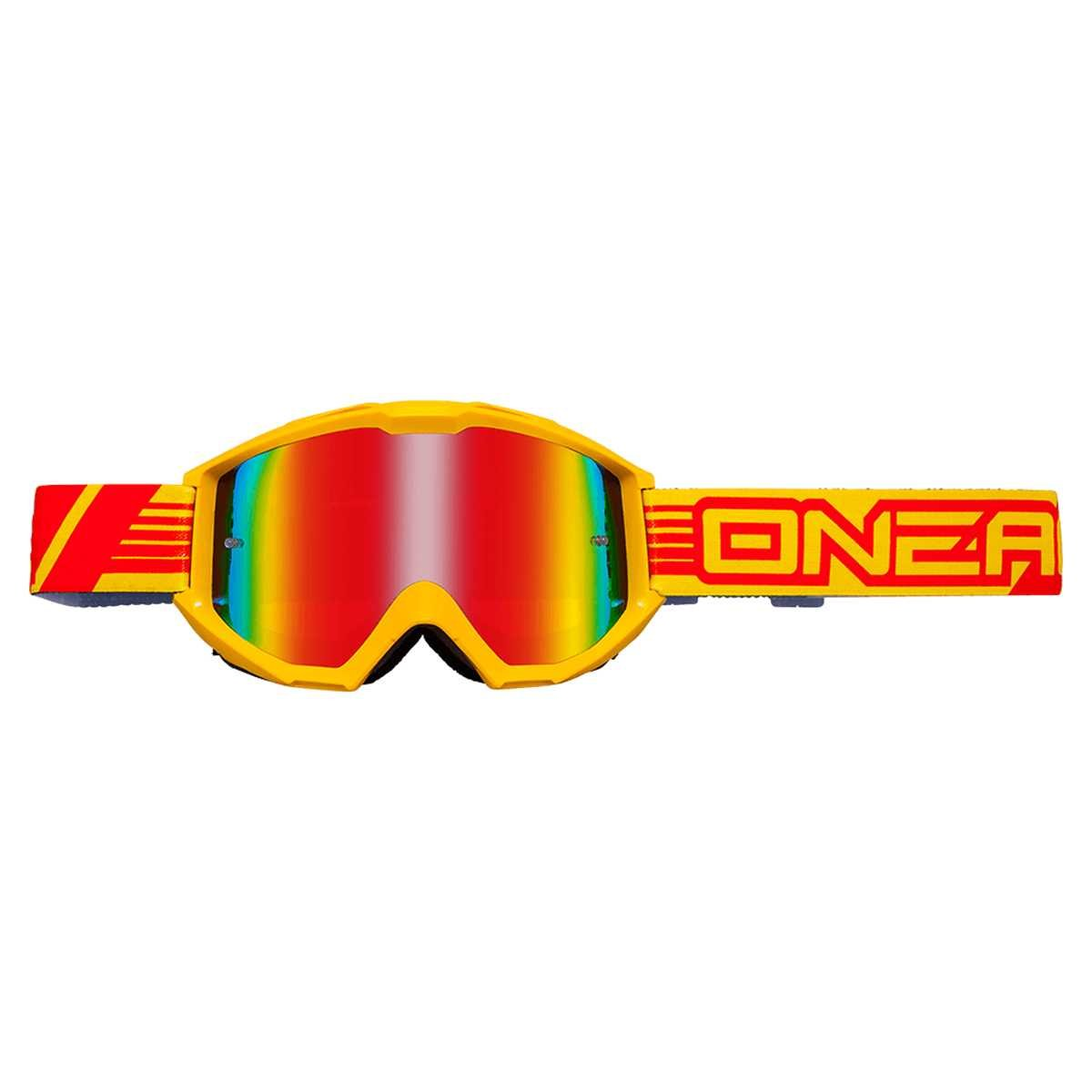 O'neal B1 RL Goggle MX DH Brille Flat gelb/radium Oneal
