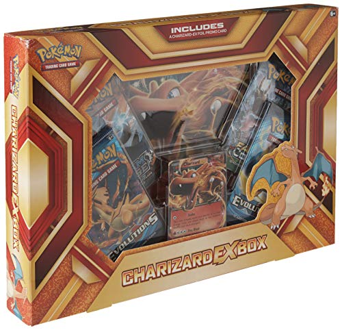 (Pokemon Cards POK16CHAREXBX TCG: Charizard-EX Box Fire Blast Card Game, Multicolor)