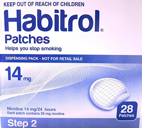 Novartis Nicotine Transdermal System Stop Smoking Aid Patches - 28 Each (Step 2 - 14 Mg) by Patches (Stop Smoking System)