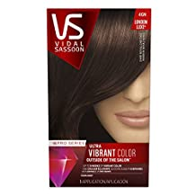 Vidal Sassoon Pro Series London Luxe Hair Color 4GN, Dark Royal Chestnut 1 Kit, 1 Count- Packaging May Vary