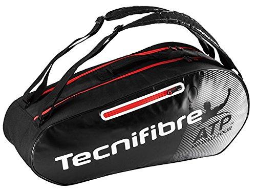 Tecnifibre Uni Pro Endurance Atp 6er Schlägertaschen, Schwarz, 750 x 40 x 33 cm, 70 Liter