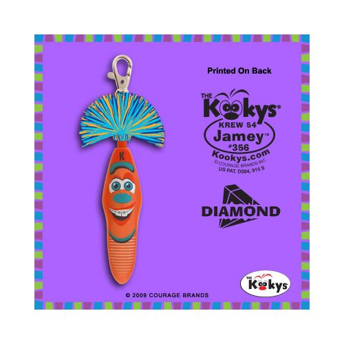 (Kooky Klicker Pen Keychain Krew 54 Jamey)